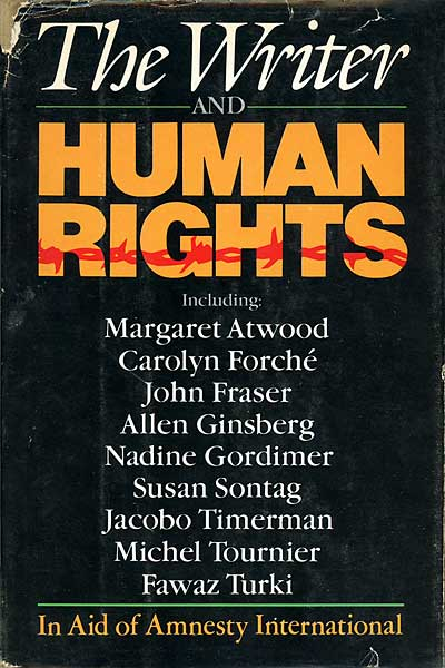 The Writer and Human Rights Cover